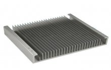 The power amplifier aluminum radiator